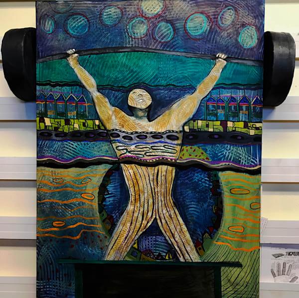 Weight Of The World | Judith Visker Art