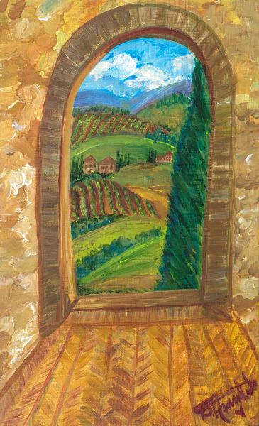 Tuscan Dreamscape  Art | Heartworks Studio Inc