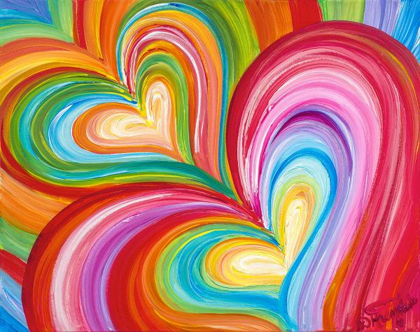 Best Friends Forever Art | Heartworks Studio Inc