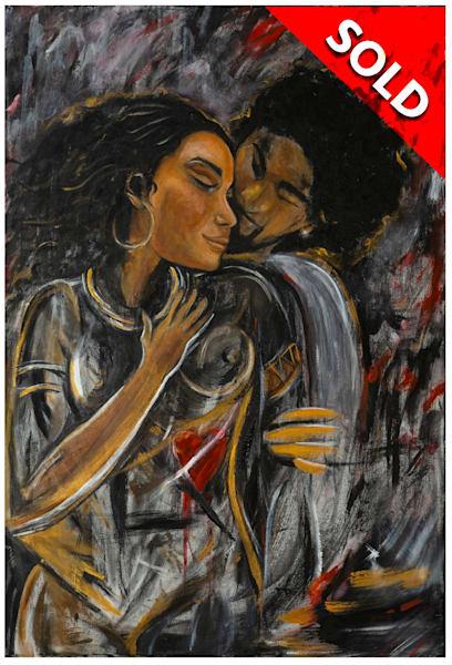 My Heart Aches For The Love Art   Blac Rhino Art Group