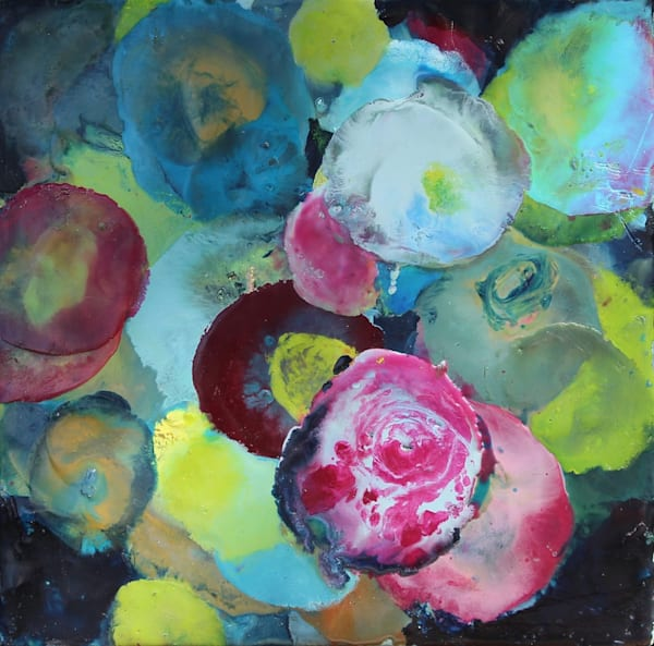 Pondfronds Iv Art | Ginny Krueger