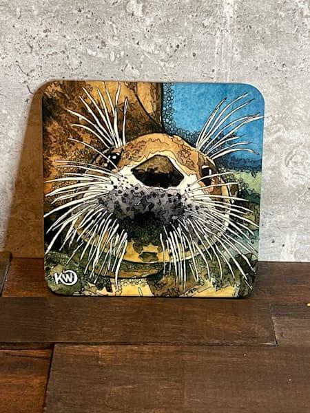Sea Otter Coaster | Water+Ink Studios
