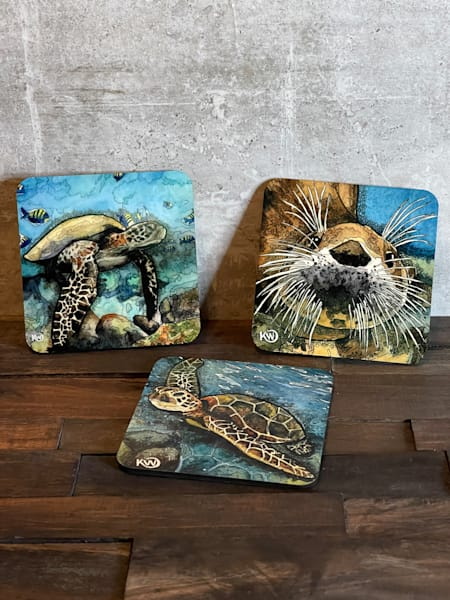 Coasters Your Choice   Mdf | Water+Ink Studios