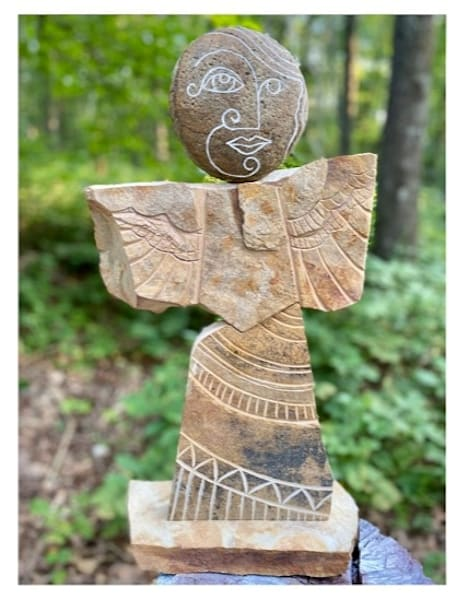 """""""Angel In Stone"""" Art 