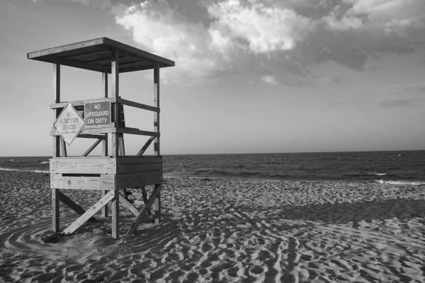 Lifeguard Tower Photography Art | Nick Levitin Photography
