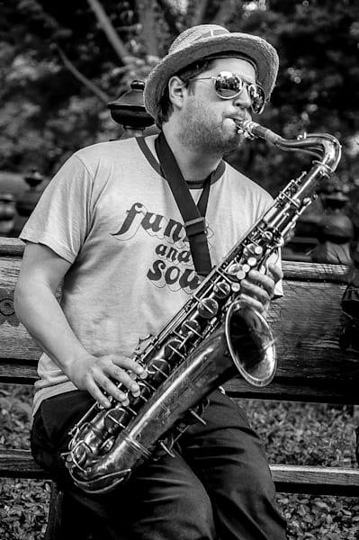 Playing The Sax Photography Art   Nick Levitin Photography