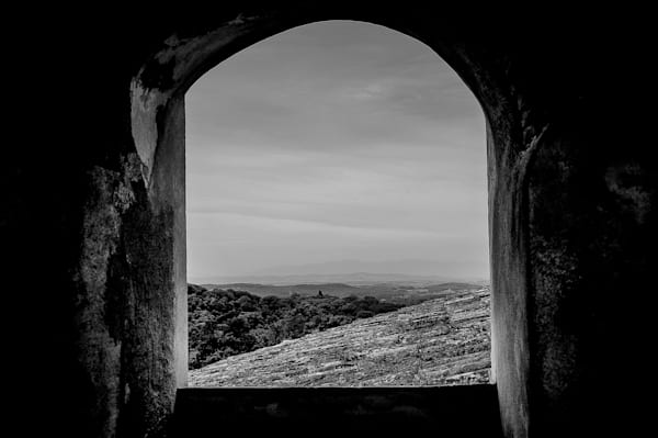 View Through An Arch Photography Art   Nick Levitin Photography