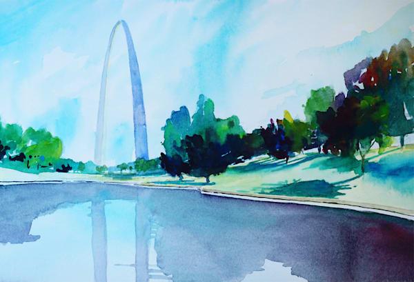 Stl Arch 1 Art | Steven Dragan Fine Art