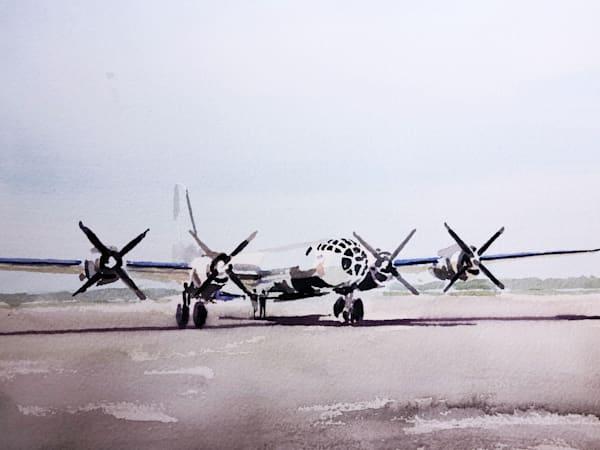 B 29 Pre Flight Art | Steven Dragan Fine Art