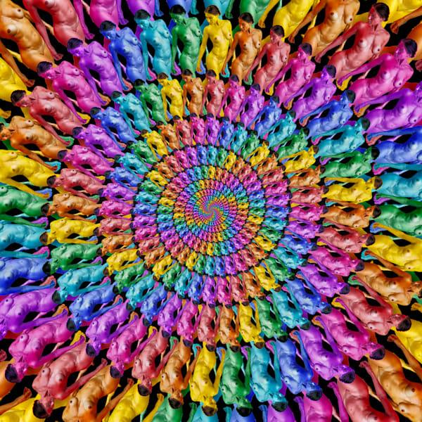 Color Flow Salsa Art | geometricphotographica