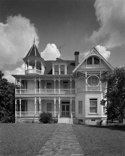 Ross Carroll Bennett House, 1893, Brenham, Texas  (1975) Photography Art   Rick Gardner Photography