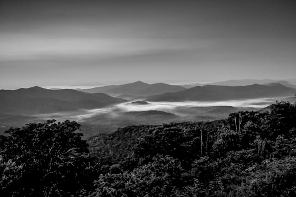 Blue Ridge Mountains, Nc Photography Art | Nick Levitin Photography