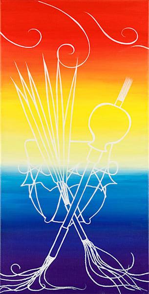 """NAC 2"" fine art print by Leanne Kaliwiyostha Thompson."