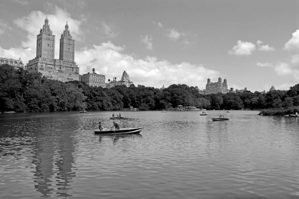 The Lake, Central Park Photography Art   Nick Levitin Photography