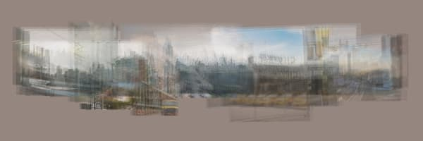 East River Shore Grey Photography Art   Cid Roberts Photography LLC
