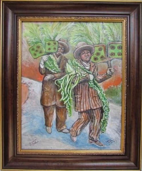 Second line paintings by Jerome Anderson