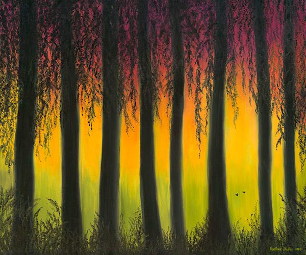 In The Mist Art   Art by Heather Stadler