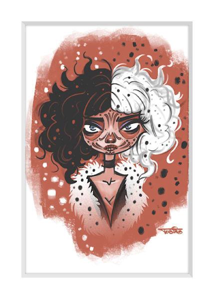 Cruella   Art By Tobias
