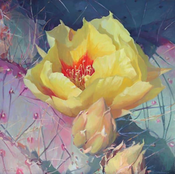 Cactus Flower 3 Art | Diehl Fine Art
