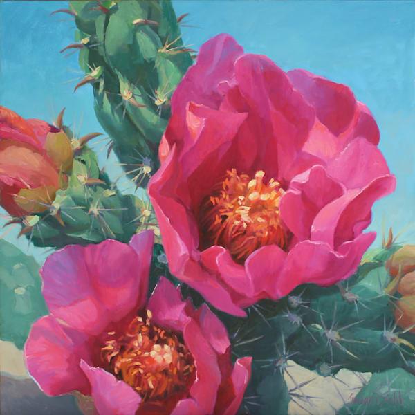Cactus Flower 4 Art   Diehl Fine Art