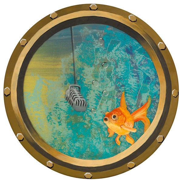 Singing Goldfish Art   Art by Heather Stadler
