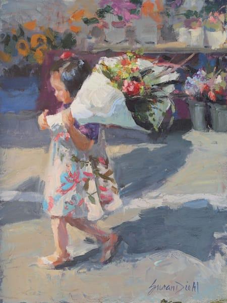 Flower Girl Art | Diehl Fine Art