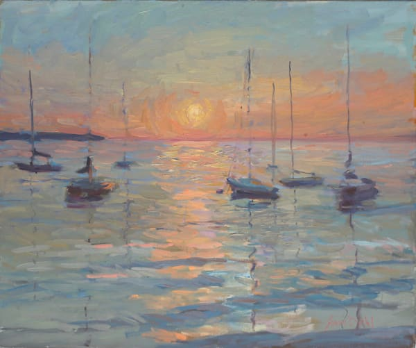 Upon A Painted Ocean Art | Diehl Fine Art