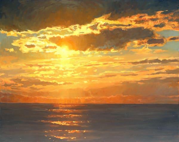 Gold Upon The Water Art | Diehl Fine Art