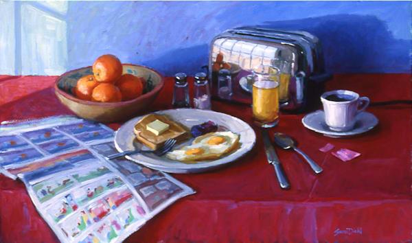 Good Morning America Art | Diehl Fine Art