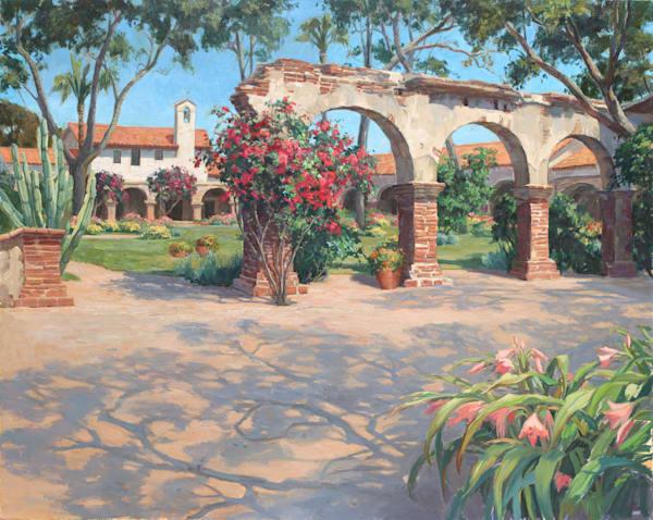 Grace Among The Ruins Art | Diehl Fine Art