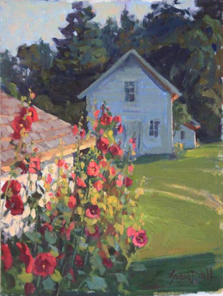 Backyard Beauties Art | Diehl Fine Art