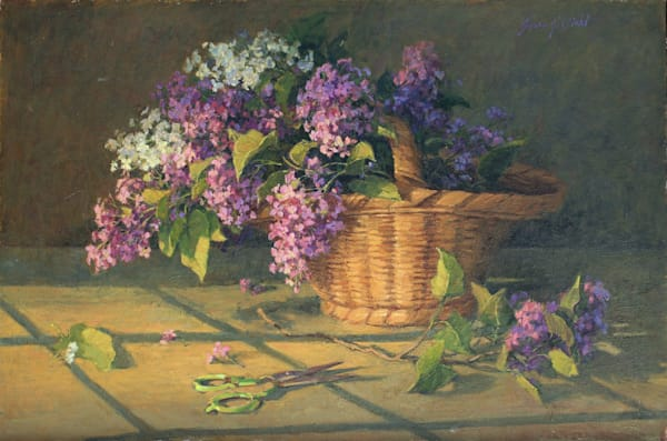 Lilac Cuttings Art | Diehl Fine Art