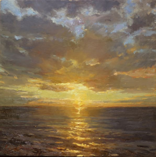 Evenings Golden Glow Art | Diehl Fine Art