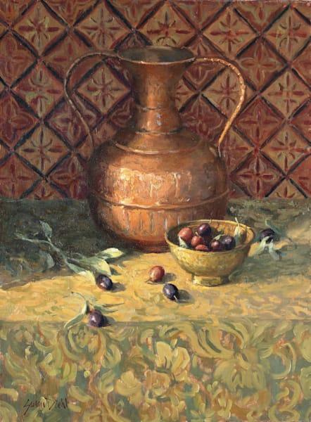 Olive Harvest Art | Diehl Fine Art