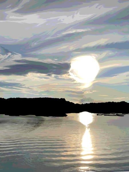 Smith Mountain Lake Sunrise Art   Elena Lipkowski Fine Arts, LLC