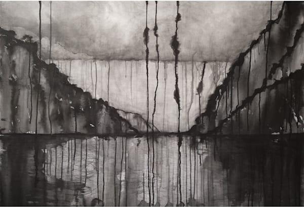 To Sea, In The Rain Art | Norlynne Coar Fine Art