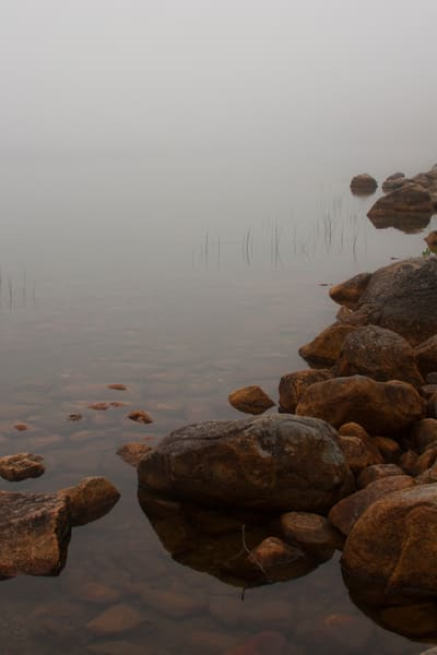 Jordon Pond, Maine Photography Art   E. Morton Studios