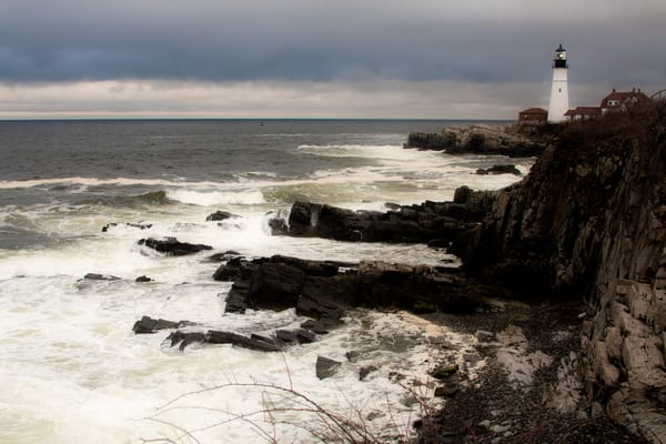 Fort Williams Light, Maine Photography Art | E. Morton Studios