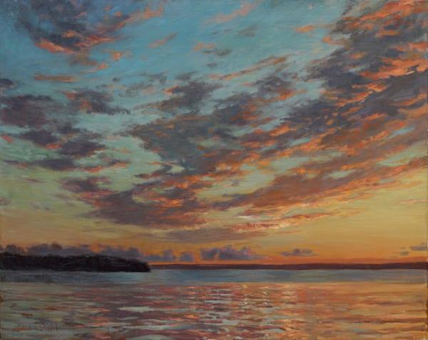 Reflections On The Bay Art | Diehl Fine Art