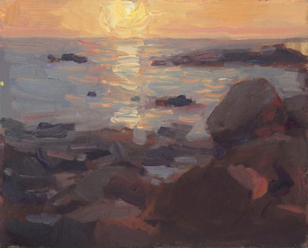 Rocky Shore Art | Diehl Fine Art
