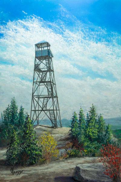 Hurricane Mountain Summit Art   Mark Grasso Fine Art