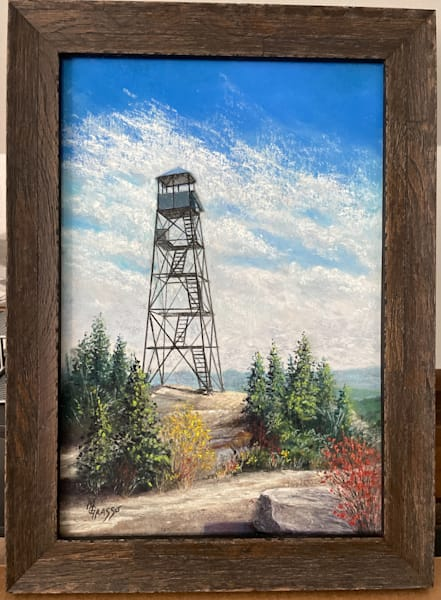 Hurricane Mountain Summit   Original Art   Mark Grasso Fine Art