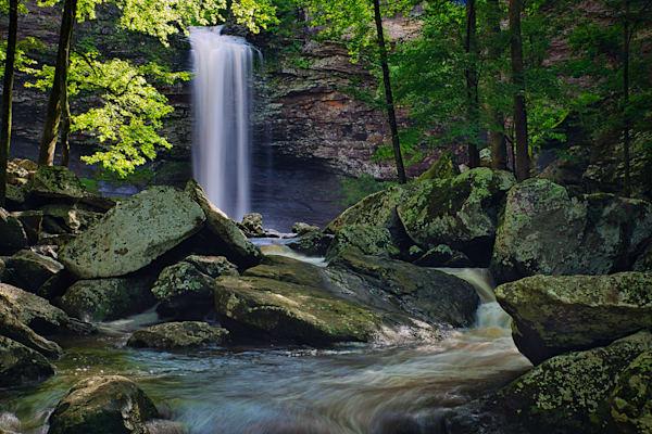 Cedar Falls in Petit Jean SP