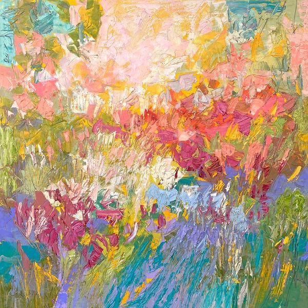 Joy in the Meadow Canvas Print by Dorothy Fagan