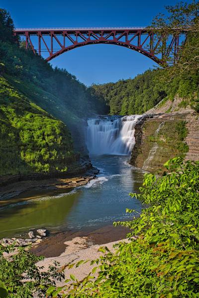 Upper Falls, Genesee River