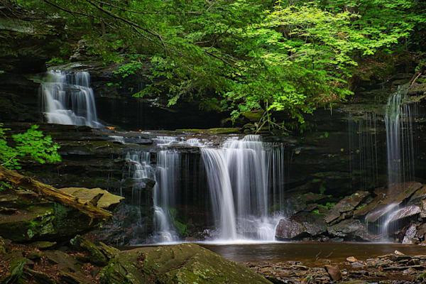 R.B. Ricketts Falls in  Ricketts Glen, Pennsylvania