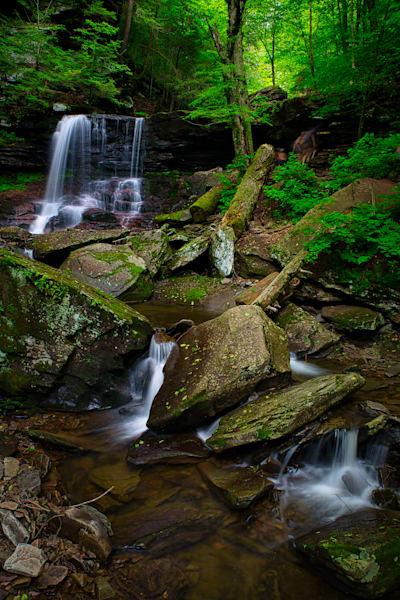 B. Reynolds Falls, Ricketts Glen, Pennsylvania