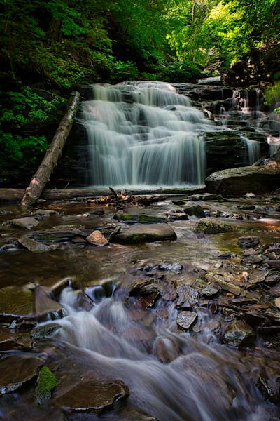Mohican Falls, Ricketts Glen, Pennsylvania