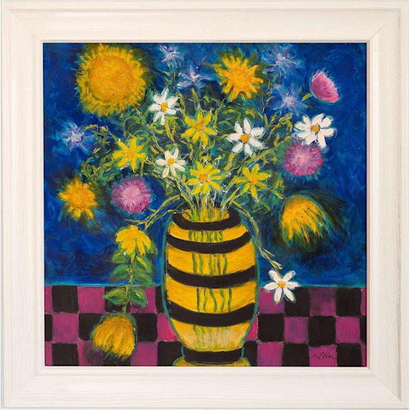 Wildflowers In A Vase Art | Norlynne Coar Fine Art
