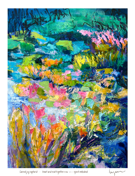Dream'd A Wish, Sacred, Ii Haiku Print Art   Dorothy Fagan Joy's Garden